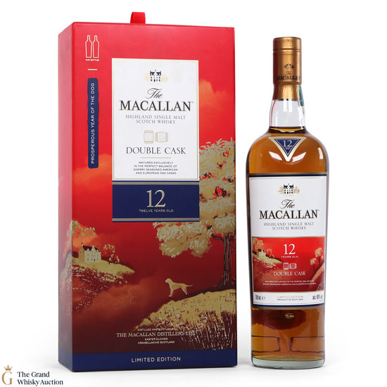 Macallan - 12 Year Old - Fine Oak - Year of the Dog (1 x 70cl)