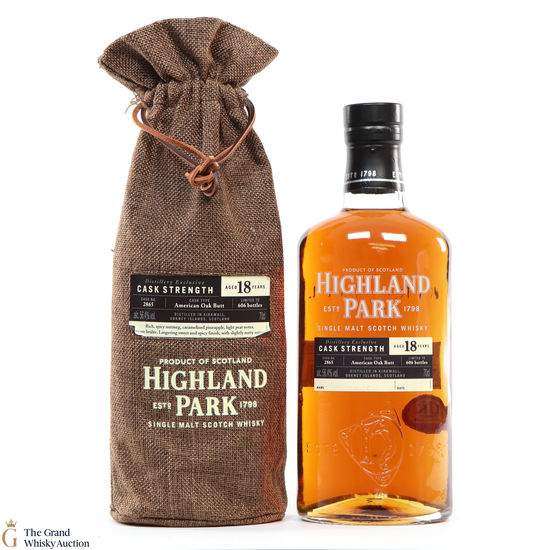 Highland Park - 18 Year Old Single Cask #2865 Distillery Exclusive