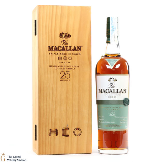 Macallan - 25 Year Old - Fine Oak