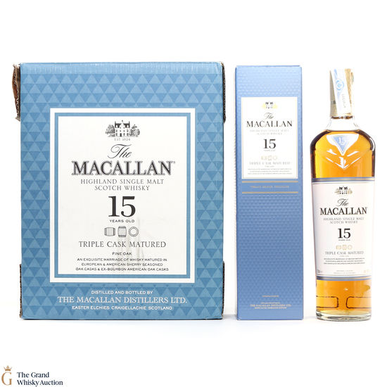 Macallan - 15 Year Old - Triple Cask (Fine Oak) (6 x 70cl)