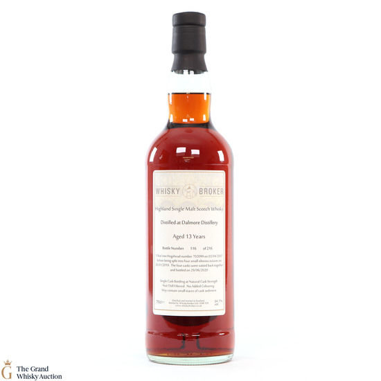 Dalmore - 13 Year Old - #702099 - Whisky Broker