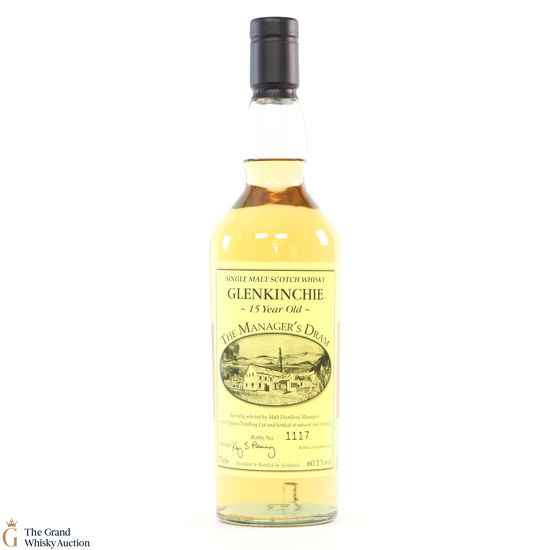 Glenkinchie - 15 Year Old - Manager's Dram