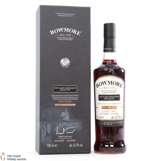 Bowmore - Manager's Selection - 1997 Distillery Exclusive 2019