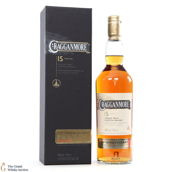 Cragganmore - 15 Year Old 150th Anniversary Distillery Exclusive