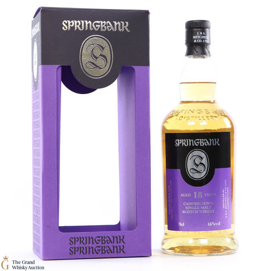 Springbank - 18 Year Old