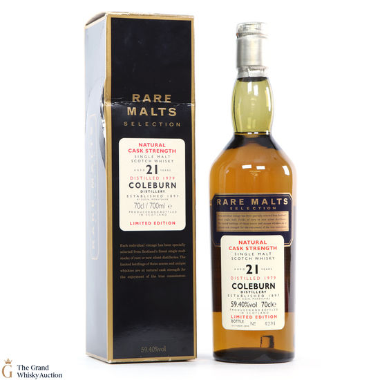 Coleburn - 21 Year Old (1979) - Rare Malts 59.4%