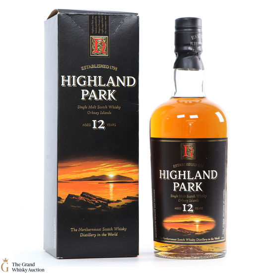Highland Park - 12 Year Old (Old Style)
