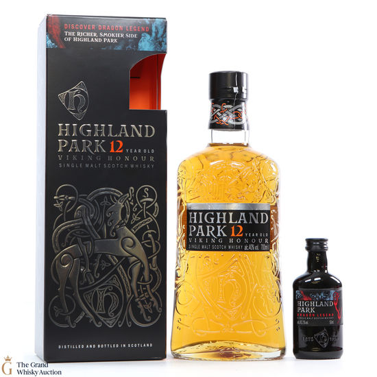 Highland Park - 12 Year Old - Viking Honour + Dragon Legend 5cl