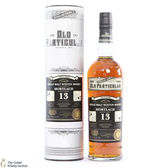 Mortlach - 13 Year Old 2004 - Old Particular - Ace of Spades