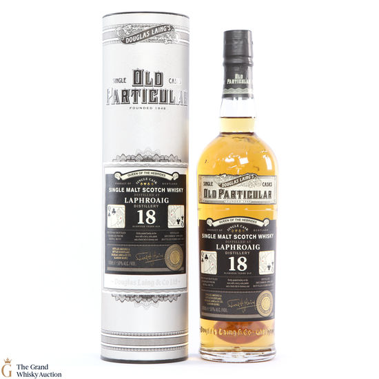 Laphroiag - 18 Year Old 2004 - Old Particular - Queen of the Hebrides