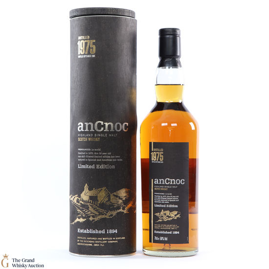 AnCnoc - 30 Year Old 1975 Limited Edition