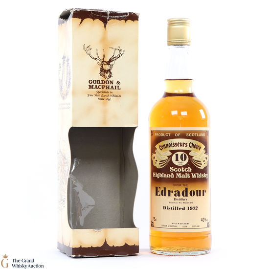 Edradour - 10 Year Old 1972 Gordon and MacPhail Connoisseurs Choice
