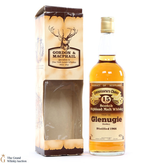 Glenugie - 15 Year Old 1966 Gordon and MacPhail Connoisseurs Choice