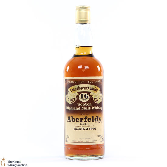 Aberfeldy - 16 Year Old 1966 Gordon and MacPhail Connoisseurs Choice