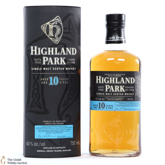 Highland Park - 10 Year Old (75cl)