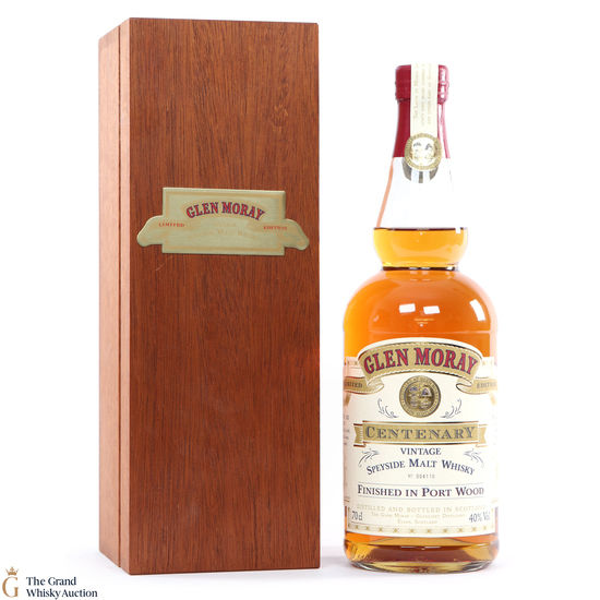 Glen Moray - Centenary - Port Wood Finish