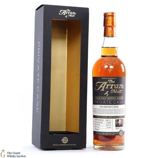 Arran - 15 Year Old Dragons Dram Private Cask #1115