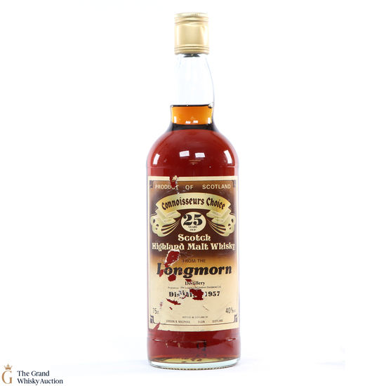 Longmorn - 25 Year Old 1957 Gordon and MacPhail Connoisseurs Choice