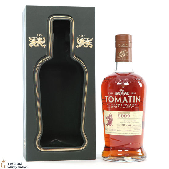 Tomatin - 2009 Oloroso Cask #3554 for Bi Wines & Spirits