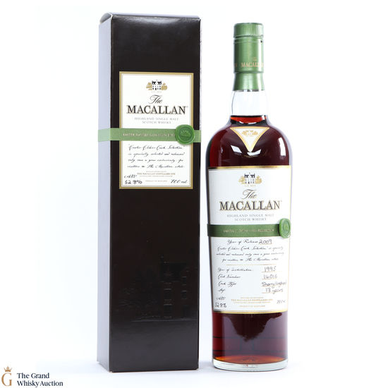 Macallan - 13 Year Old - 1995 Easter Elchies 2009