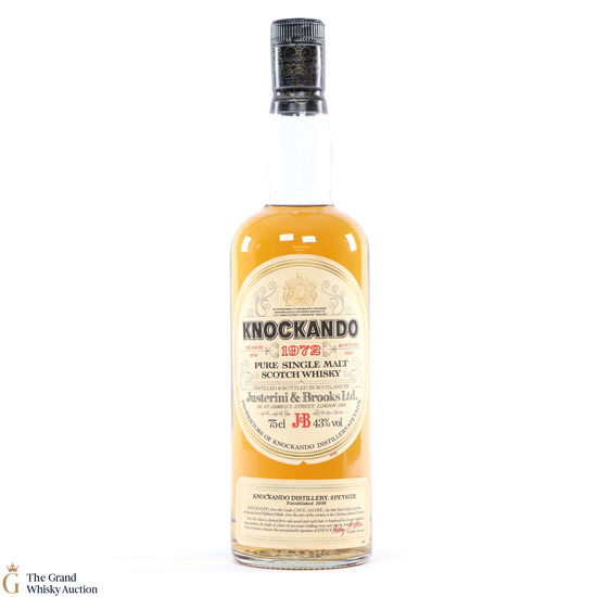 Knockando - 1972 - 1983 Justerini & Brooks Ltd 75cl