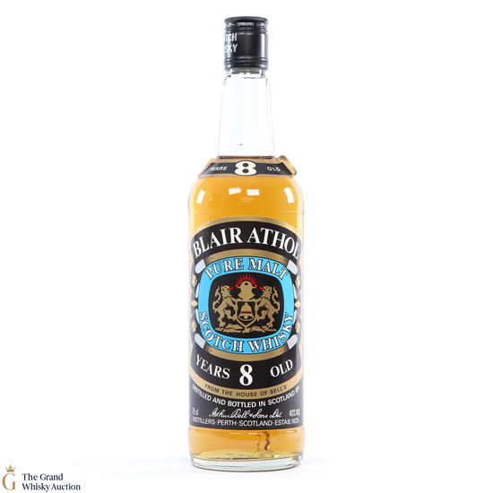 Blair Athol - 8 Year Old 1980s 75cl