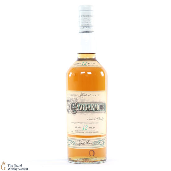 Cragganmore - 12 Year Old (1980s) 75cl