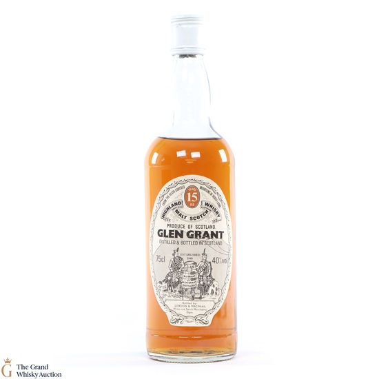Glen Grant  - 15 Year Old - Gordon and MacPhail