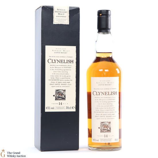Clynelish - 14 Year Old - Flora and Fauna