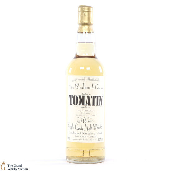 Tomatin - 16 Year Old #6925 1988