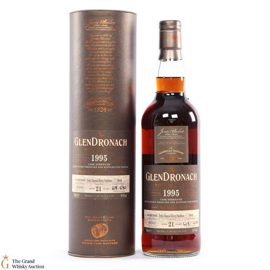Glendronach - 21 Years Old - 1995 Single Cask #3048 Taiwan Exclusive