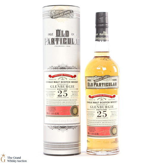 Glenburgie - 25 Year Old 1992 Old Particular
