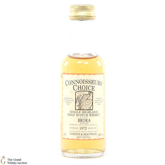 Brora - 1972 Gordon and Macphail Connoisseurs Choice 5cl