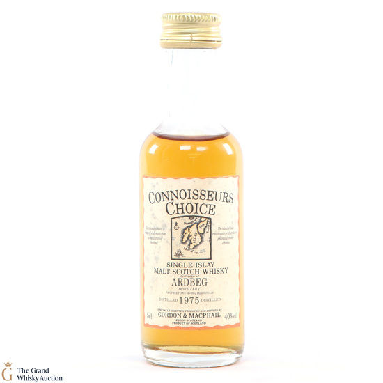 Ardbeg - 1975 Gordon and Macphail Connoisseurs Choice 5cl