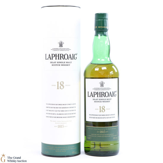 Laphroaig - 18 Year Old