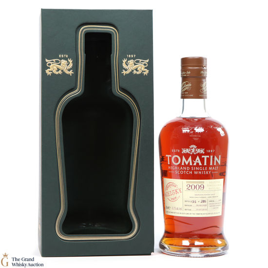 Tomatin - 2009 French Oak #3435 for Aberdeen Whisky Shop