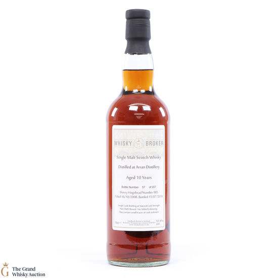Arran - 10 Year Old - #985 - Whisky Broker