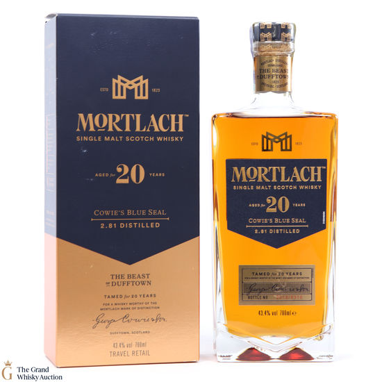 Mortlach - 20 Year Old Cowies Blue Seal 2.81