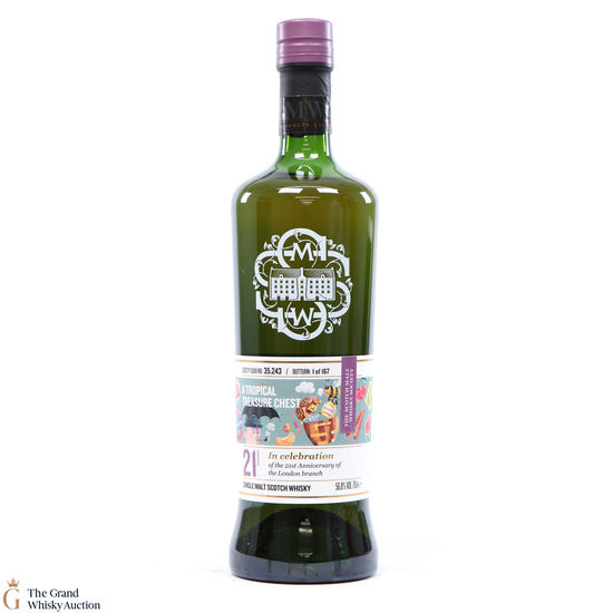 Glen Moray - 21 Year Old SMWS 35.243 - 21st Anniversary London Branch