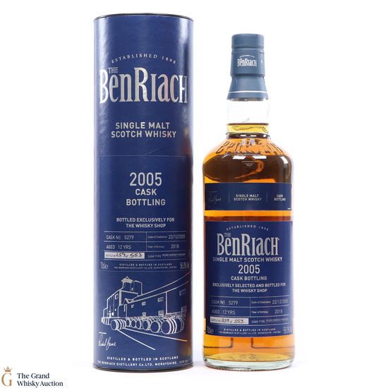 Benriach - 2005 Single Cask - 12 Years old #5279 Whisky Shop