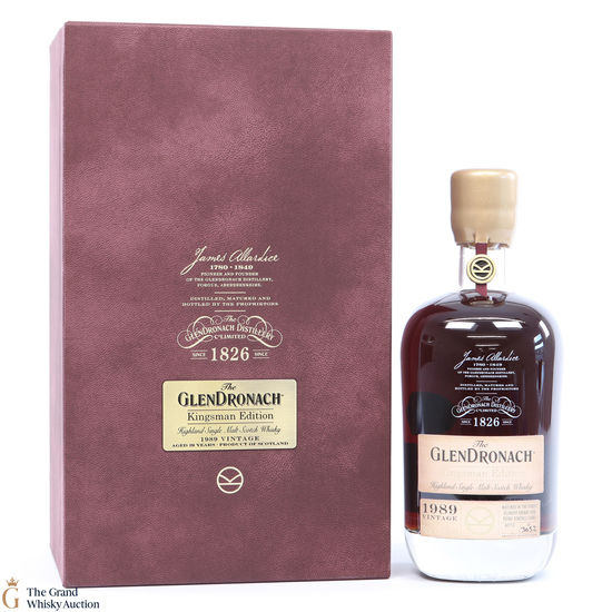 GlenDronach - 29 Year Old - 1989 Kingsman Edition