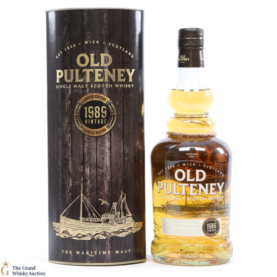 Old Pulteney - 1989 - Lightly Peated Limited Edition