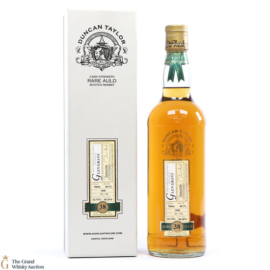 Glen Grant - 38 Year Old 1972 Duncan Taylor Rare Auld #1648