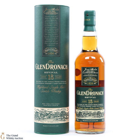 GlenDronach - 15 Year Old - Revival