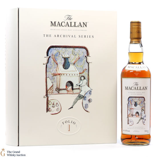 Macallan - Archival Series - Folio 1