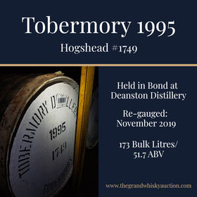 Tobermory - 1995 Hogshead #1749 | Held In Bond