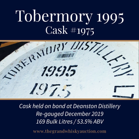 Tobermory - 1995 Hogshead #1975 | Held In Bond